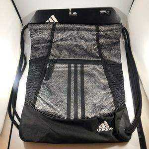 Adidas Alliance II Sackpack grey gym bag